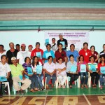 Chairpersons of 26 barangays in Siocon proudly show their barangay development plans as they expressed thanks for the social development projects established by TVIRD.