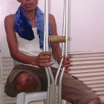 It was a hard lesson in life for Jerry Ontolan -- a former 