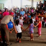 Looking after the future. AMVI partners with the Tubay Municipal Council for the Protection of Children (MCPC) in the latter's annual Christmas event, which aims to benefit close to 400 children with disabilities.